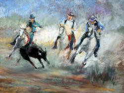 Trio de chevaux