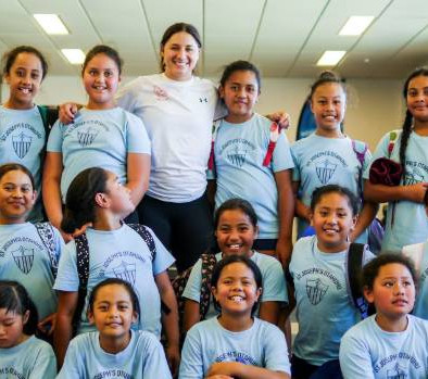 Sport: South Auckland schools label all girls day a smashing success