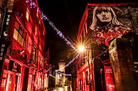Womanby Street Venues Lit Up Red for Red Alert Campaign