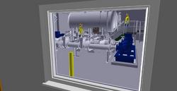 3D model Crai BPS - Through Window