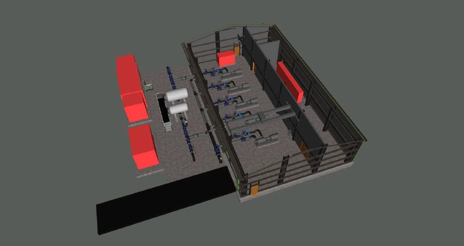 3D Model Llechryd