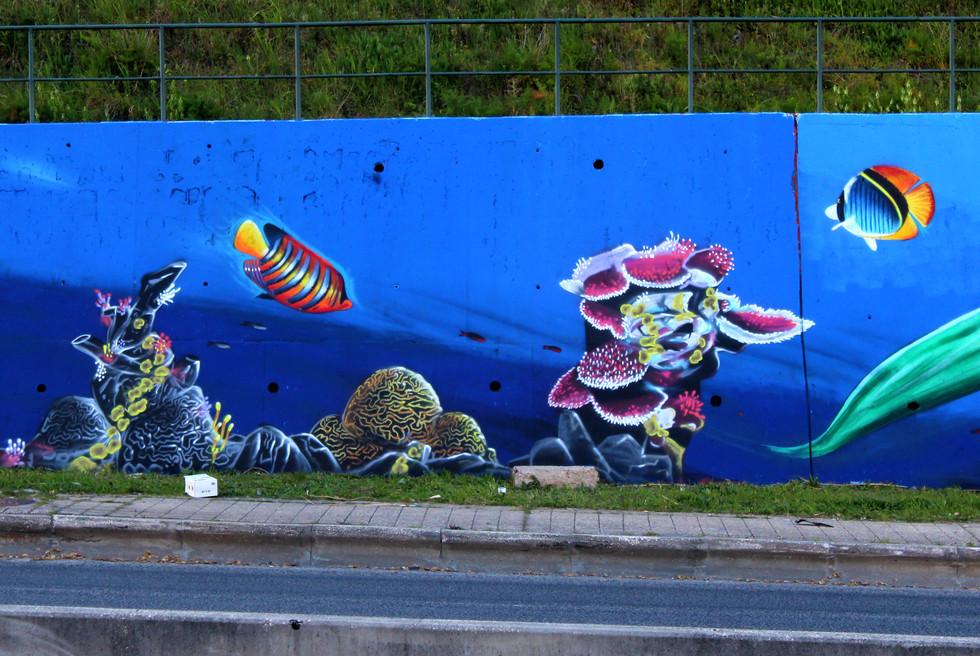 """""""Onde há ciência e prática, há sabedoria e prática"""" - Mural IPL""""Onde há ciência e arte, há sabedoria e prática"""" - Mural IPL"""