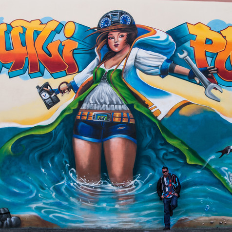 "Graffiti Mural for the Company ""Krautly Portugal"""