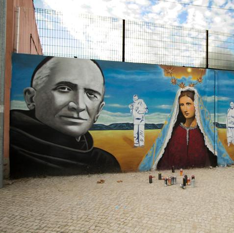 Religious Tribute, Idanha´s Church, Sintra.