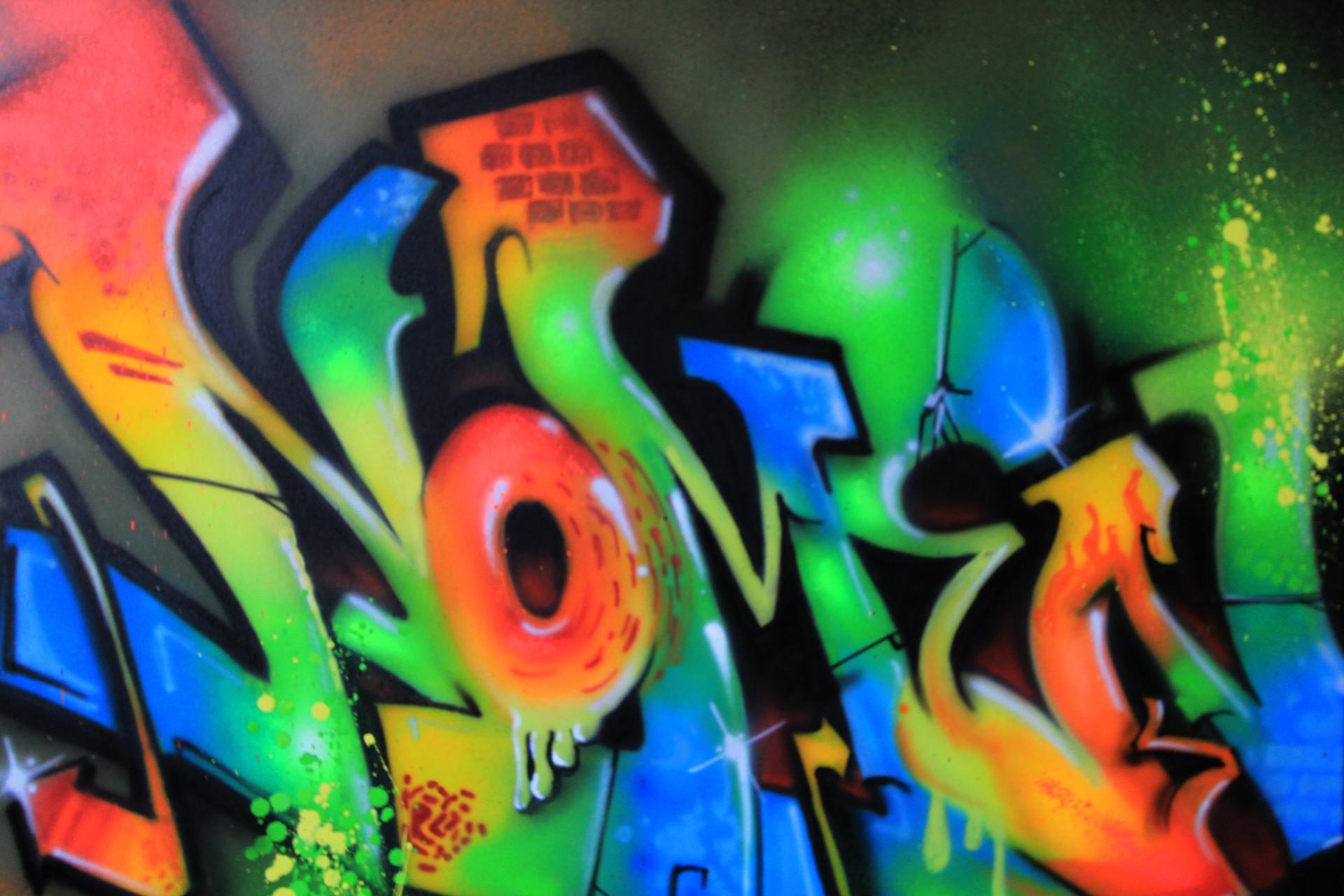 Nomen graffiti wildstyle