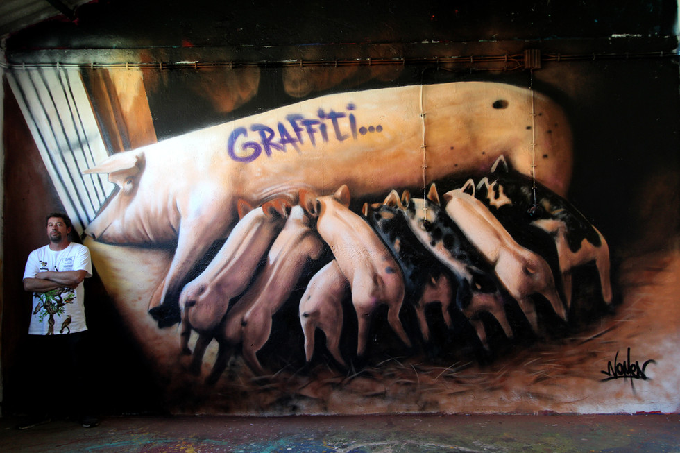 Graffiti Pigs