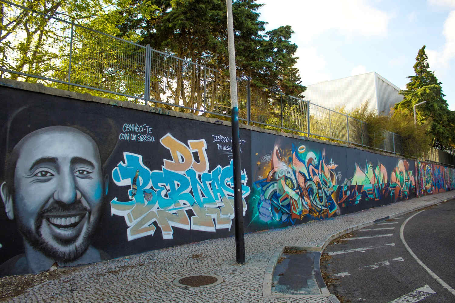 Street Art Tours Carcavelos, Cascais - Carcavelos Wall of Fame Carcavelos