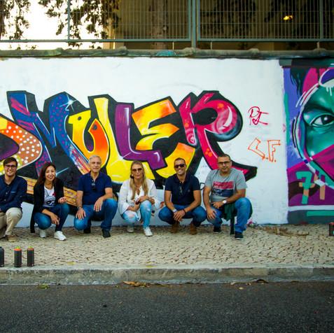 Team Building graffiti workshop