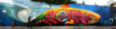 graffiti artwork, street art, nomen, graffiti fish, decoração graffiti, telas graffiti para venda, muraliza cascais