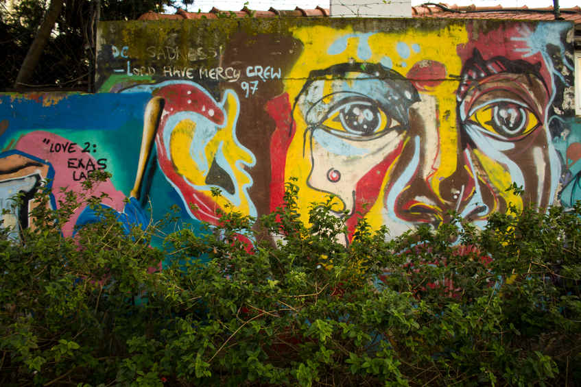 Street Art Experience by Double Trouble crew - Street Art Tours Carcavelos