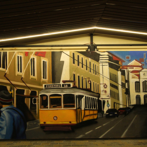 """Decor Graffiti commission """"Taberna a Preciosa"""", b"""