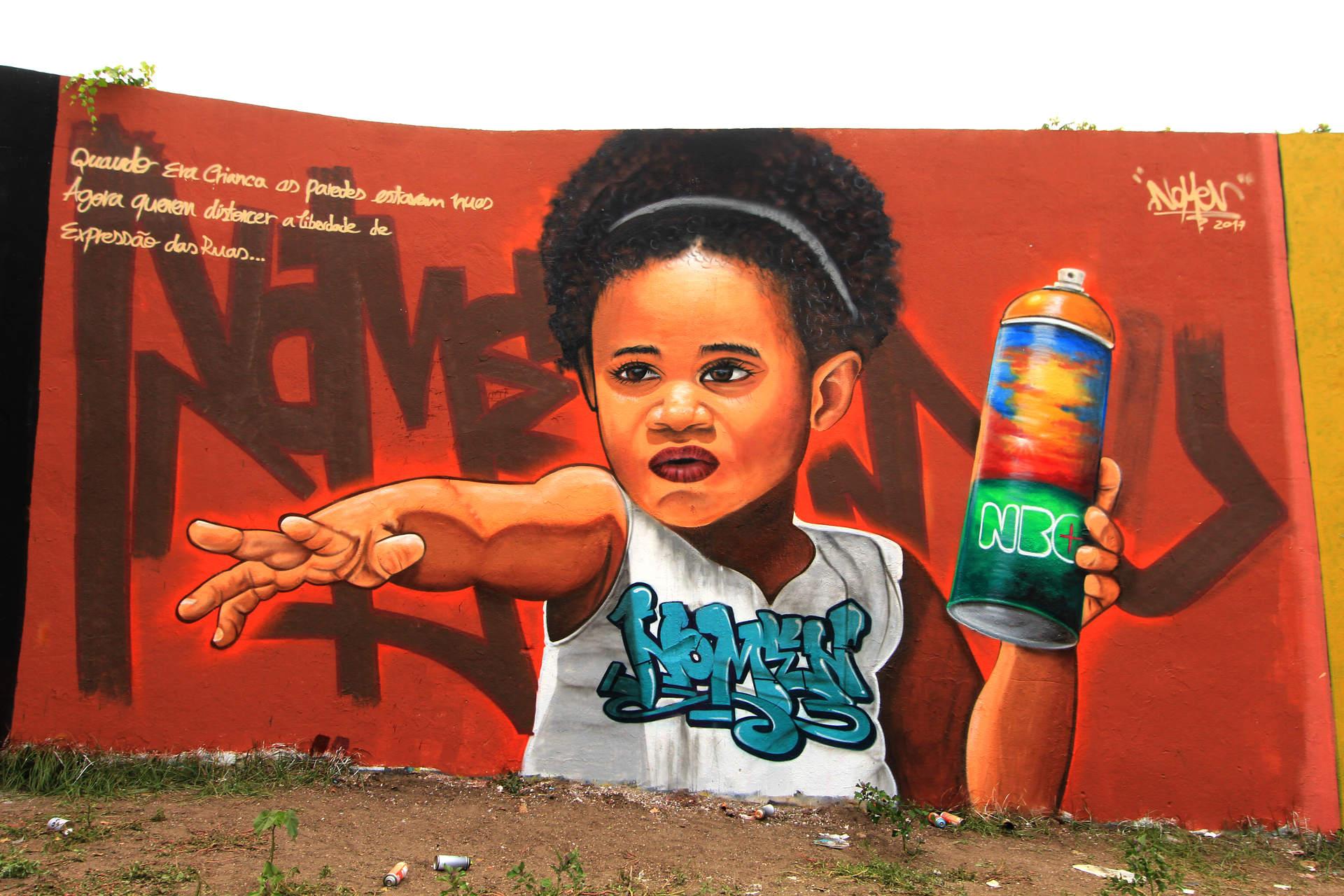 """Nomen """"A menina do Amoreiras"""", Lisboa"""