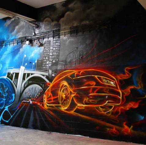 serviço pintura graffiti