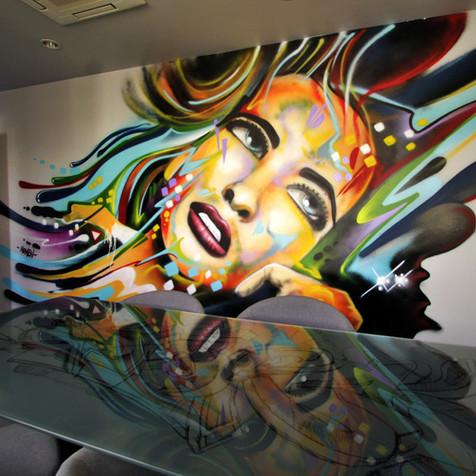 Serviço de pintura Graffiti por Nomen.
