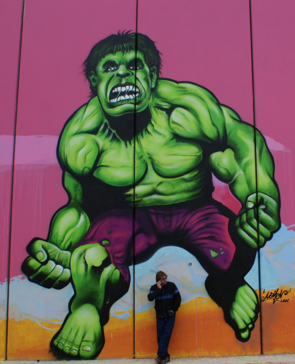 Painted by Nomen - Incredible Hulk