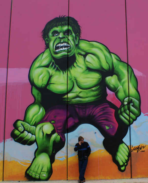 Painted by Nomen - Incredible Hulk