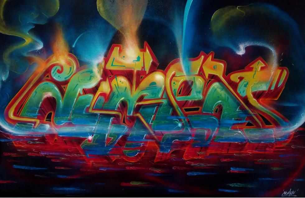 Nomen graffiti letters