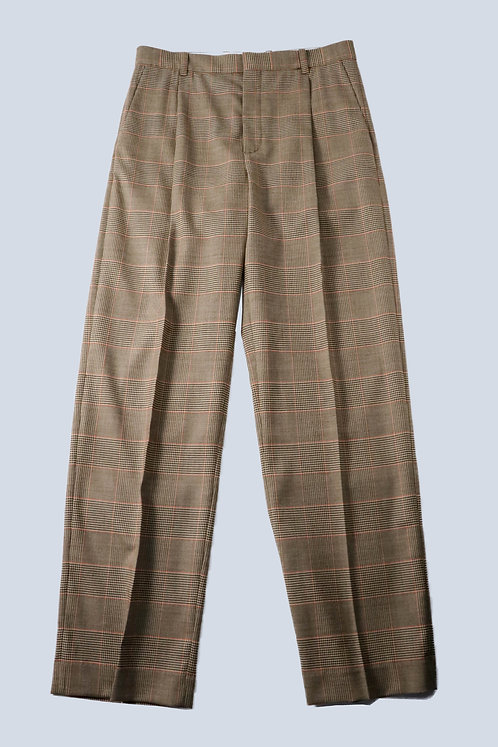 BOTTER - CLASSIC TROUSERS /BROWN CHECK
