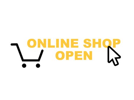 ONLINE SHOP OPEN