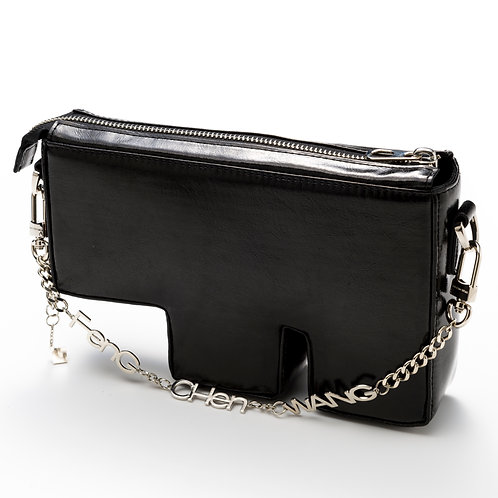 "Feng Chen Wang - ""F"" BAG GLASS BLACK"