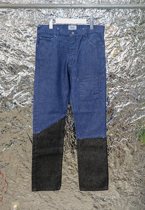 KUDOS -2TONE DENIM PANTS