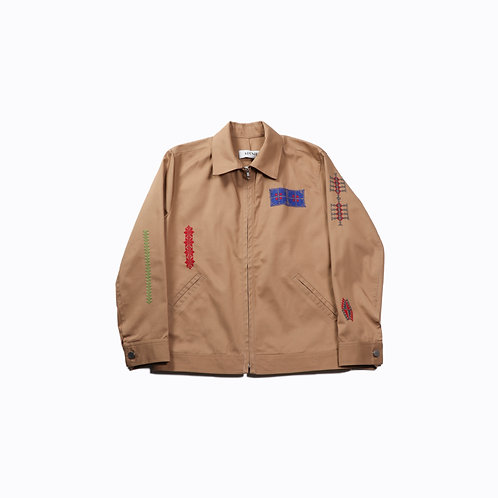 ADISH - MAKHLUT COTTON ZIP JACKET