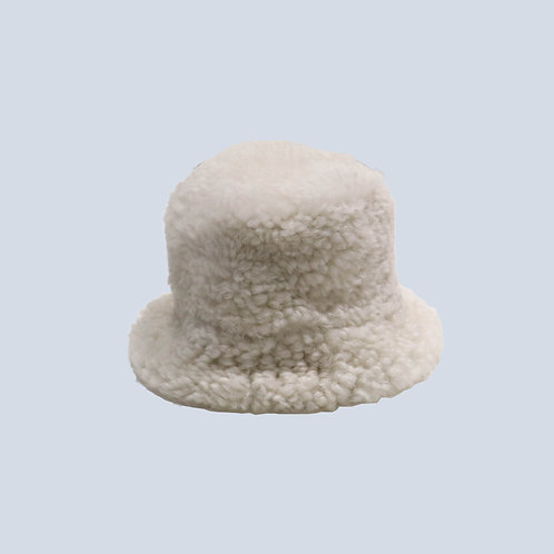 SUNNEI - SHEARLING BUCKET HAT