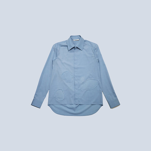 CORNERSTONE - SHIRT / BLUE