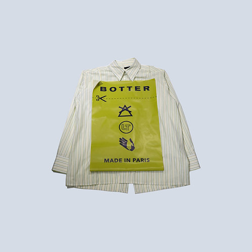 BOTTER - BIG LABEL SHIRT /WHITE YELLOW