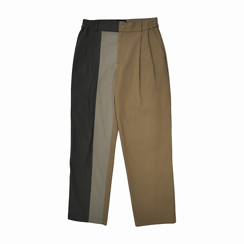 FENG CHEN WANG - PANELLED TWILL PANTS
