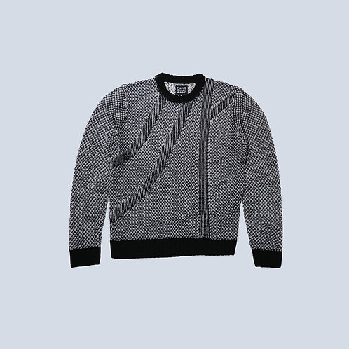 Feng Chen Wang - KNITTED MESH JUMPER