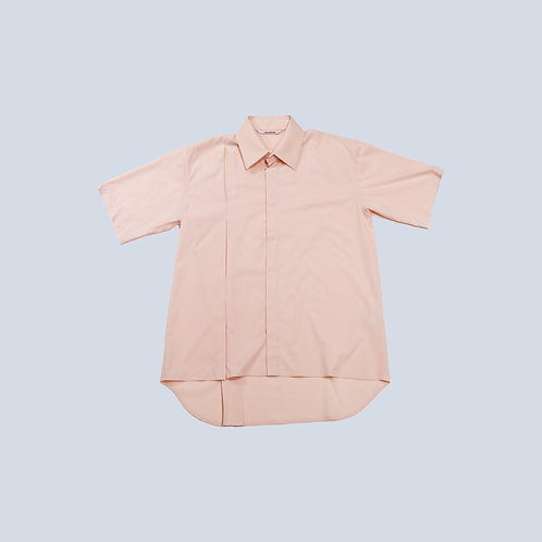 CORNERSTONE - SHORT SLEEVE SHIRT / PINK