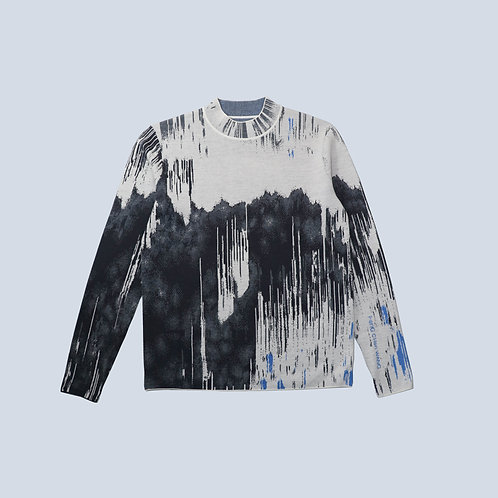 FENG CHEN WANG - JACQUARD PULLOVER SWEATER