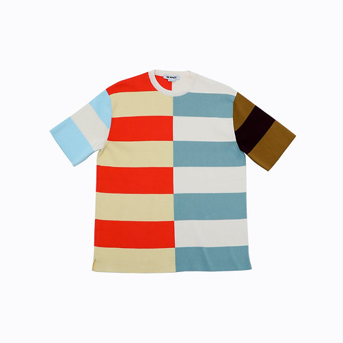 SUNNEI - MULTICOLOR KNIT T SHIRT