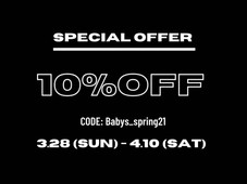 10%OFF SPECIAL OFFER