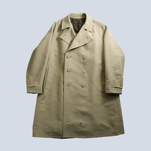 KUDOS - TOO MANY BUTTONS TRENCH COAT /BEIGE