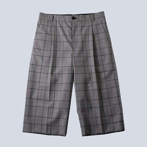BOTTER - CLASSIC SHORT TROUSERS /DGRSCHK DARK GREY CHECK