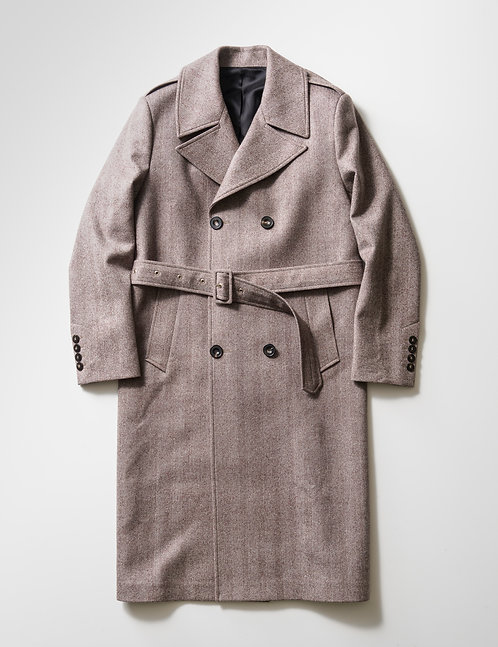 ERNEST W. BAKER - DOUBLE BREASTED COAT