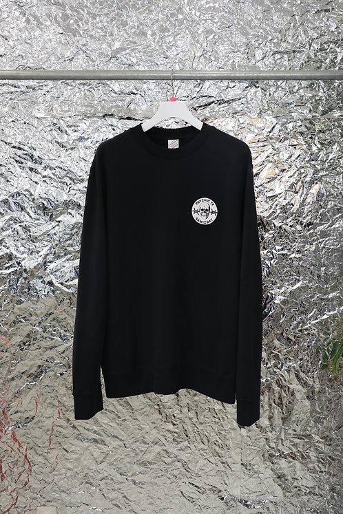 SAMIZDAT - PTV CREWNECK SWEAT SHIRT