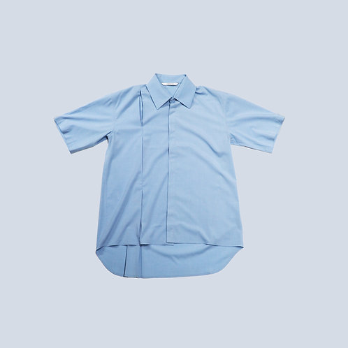 CORNERSTONE - SHORT SLEEVE SHIRT / BLUE