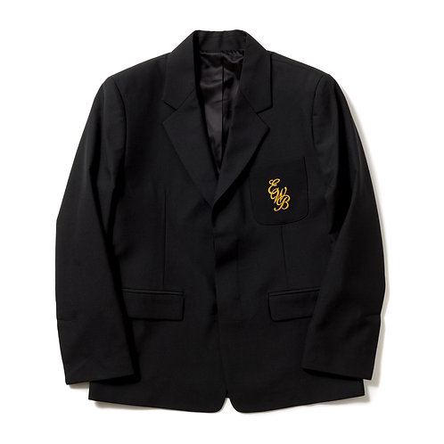 ERNEST W. BAKER - EWB EMBROIDERED BLAZER BLACK