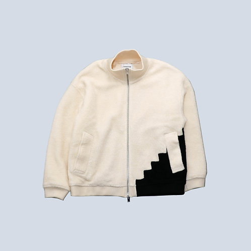 CORNERSTONE - W/ZIP FLEECE JACKET