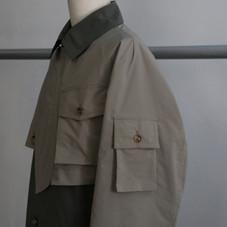 Feng Chen wang SS21コレクションからドッキングコートのご紹介。