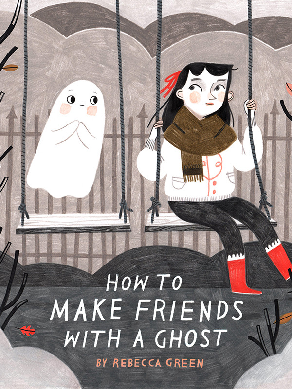 Interview with Rebecca Green, HOW TO MAKE FRIENDS WITH A GHOST