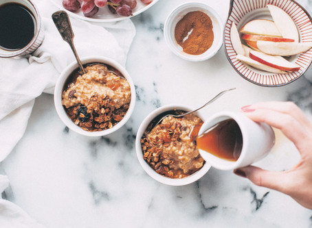 Crock Pot Peach Oatmeal