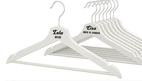 Wedding Hanger Name + Role