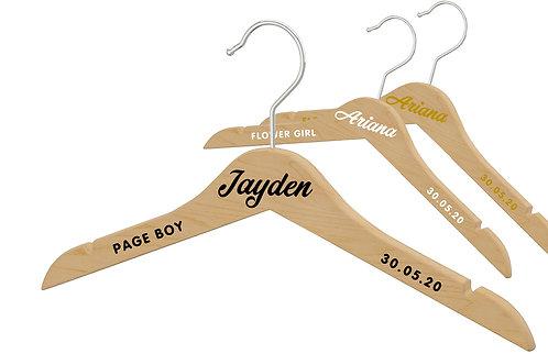 Childs Wedding Hanger