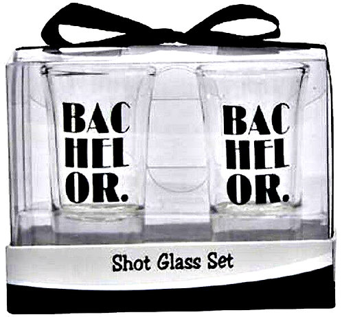 Bachelor Shot Glasses Set