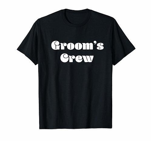 Groom's Crew Tees