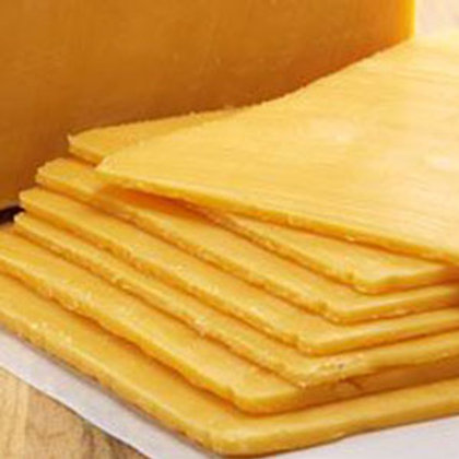 Sliced Sharp Cheddar - 2 lbs